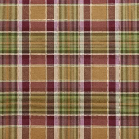 plaid upholstery fabric purple and green country plaid upholstery fabric by the yard