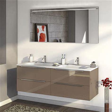 meubles salle de bains gris mat burgbad style espace aubade