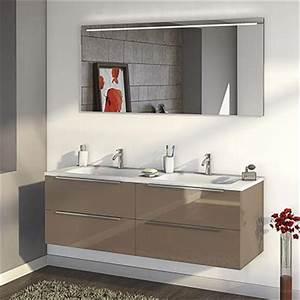 Meuble Salle De Bain 150 : meuble salle de bain 150 cm espace aubade ~ Teatrodelosmanantiales.com Idées de Décoration