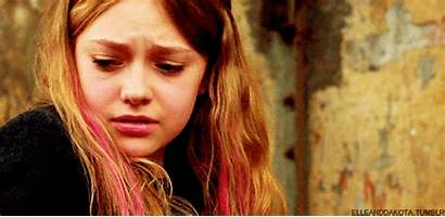 Fanning Dakota St Blonde Crying Cry Gifs
