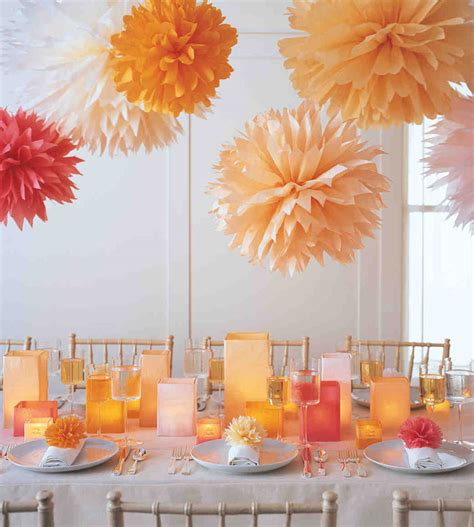 ideas for cheap wedding autumn candle centerpiece sang