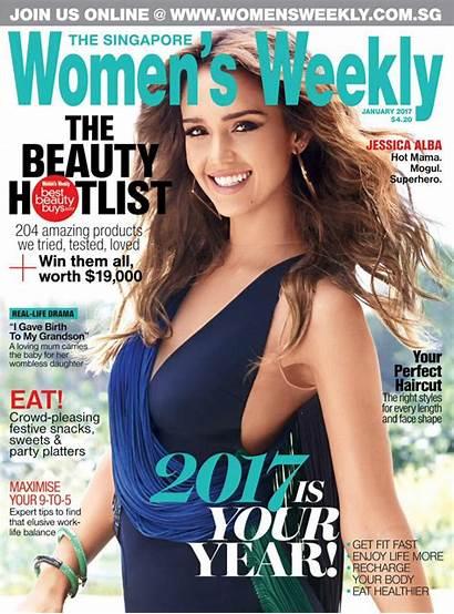 Alba Jessica Weekly Magazine January Singapore Hawtcelebs