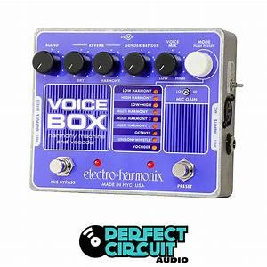 Electro-harmonix Voice Box Harmony Machine Vocoder