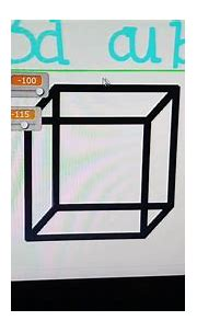 3D cube on __ scratch - YouTube