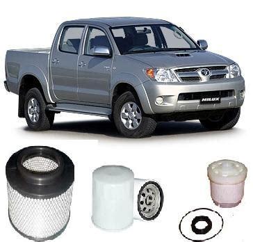 kit9040 filter kit toyota hilux diesel 3 0l 4cyl turbo diesel 1kd ftv 2005 kn165 kn165r