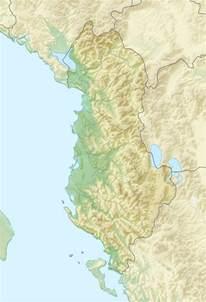 Albania Location Map
