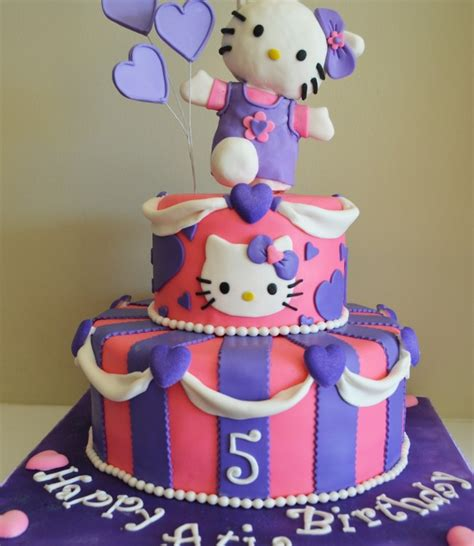 Cat kitten birthday cake design ideas decorating tutorial video at home by rasna @ rasnabakessubscribe to our youtube channel follow the link. 30 Cute Hello Kitty Cake Ideas and Designs - EchoMon