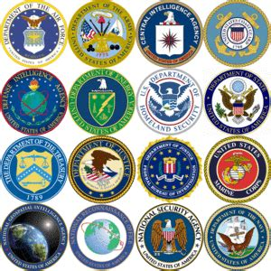 what are the 15 cabinet departments united states intelligence community