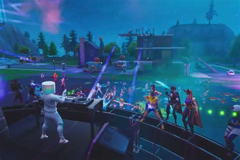 fortnite marshmello concert watched   million players