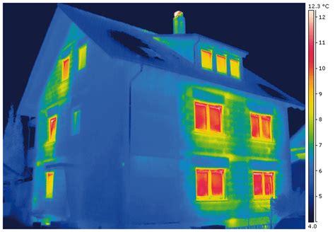 Thermografie So Machen Sie Waermeverluste Am Haus Sichtbar by Mit Dem Thermografiecheck W 228 Rmeverluste Des Hauses