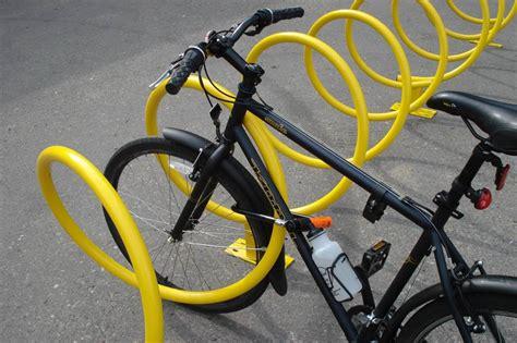 dero bike racks dero helix rack spiral shaped bicycle rack