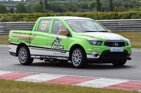 SsangYong Musso pickup goes racing | Parkers
