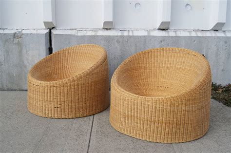 pair of wicker chairs by eero aarnio at 1stdibs