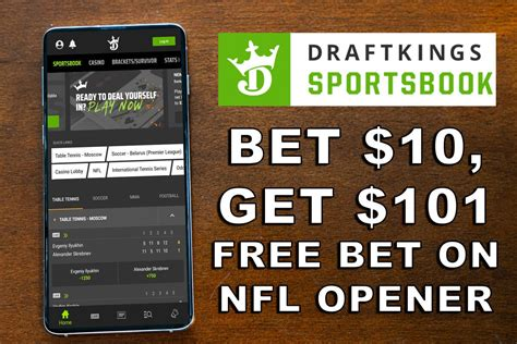 DraftKings Sportsbook Is Giving New Players A Big NFL Free ...
