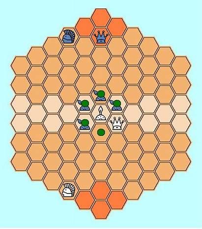 Heroes Hexagonal Chess Version Opposing Adjacent Moves