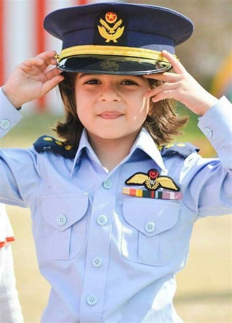 cute kid  paf uniform army women army baby military