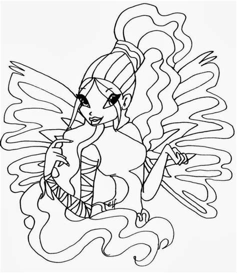 winx da colorare musa disegni da colorare winx sirenix musa img