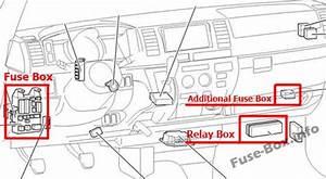 Fuse Box Diagram  U0026gt  Toyota Hiace  H200  2005