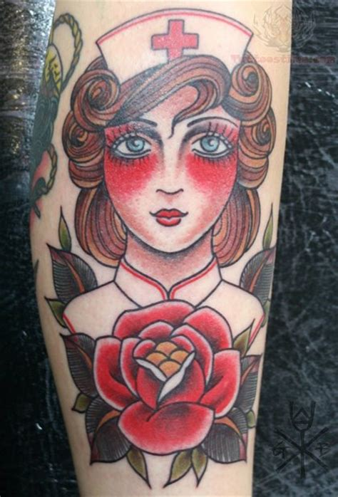 nurse tattoo images designs