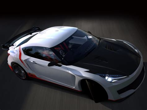 Gambar Mobil Toyota 86 by Gambar Mobil Toyota Ft 86g Sports Concept 2010