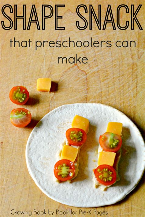 make a tortilla shape snack pre k pages 787 | shape snack preschoo