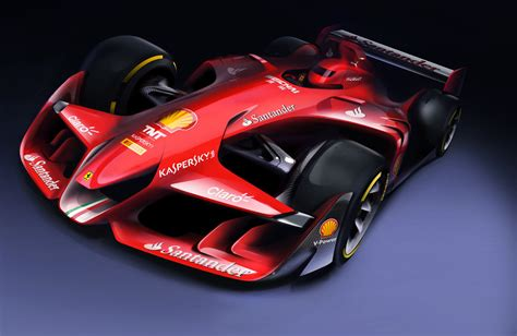 F1 News by Reveals F1 Future Concept Racecar Engineering