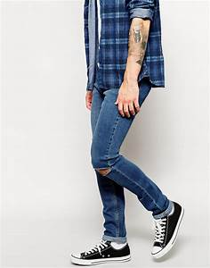 Cheap ripped jeans mens