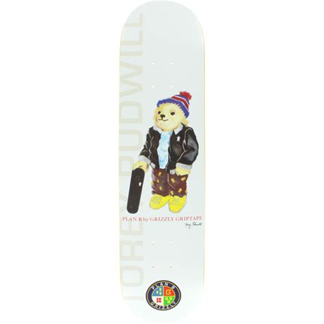grizzly skate decks plan b skateboards torey pudwill grizzly skateboard deck