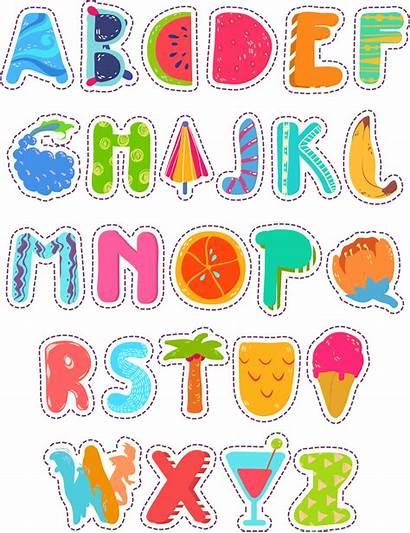 Alphabet English Letters Word Clipart Abc Cartoon