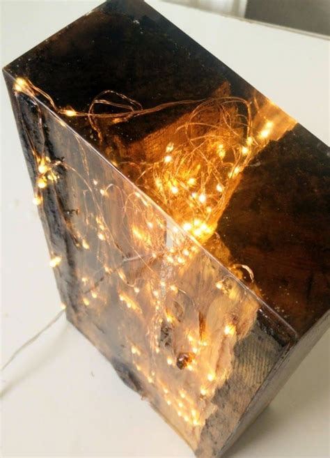 resin wood light block   epoxy resin wood resin