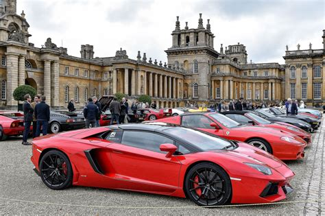 salon prive launches cars coffee  blenheim palace