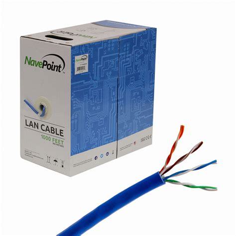 cat5e cat6 cable 1000ft utp solid network cat5 bulk wire rj45 lan ebay