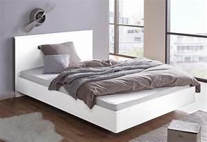 Bett Hochglanz Weiß 90x200 : bett mit hochglanz oberfl che online kaufen otto ~ Markanthonyermac.com Haus und Dekorationen