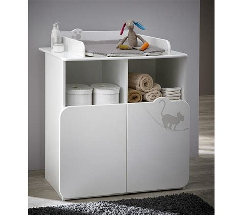 commode table 224 langer b 233 b 233 blanc plan 224 langer but