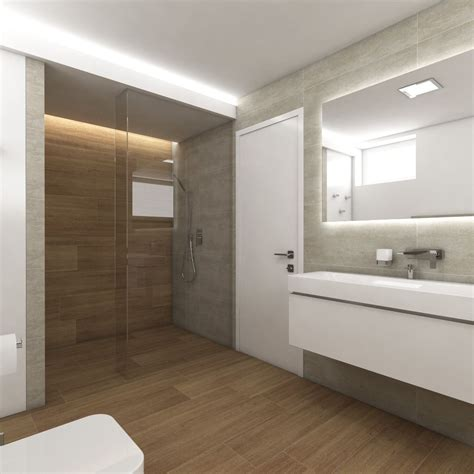 Modernes Spa Badezimmer Designideen  Home Decor