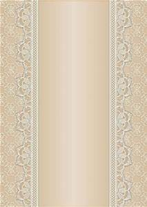 Vintage Lace Panel A4 Background - Peach - CUP470616_168 ...