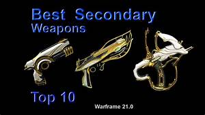 Warframe Best Secondary Weapons For High Level Content