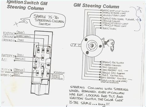 wire diagram for gm steering column wiring diagram free