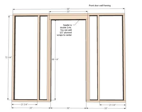 framing a door building a frame for a door frame design reviews