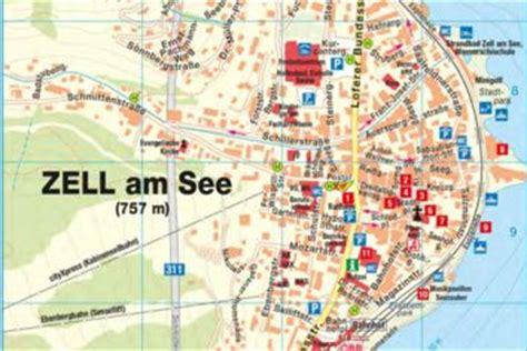 Karte Zell Am See