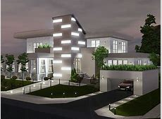 Illuminate Futuristic Home by Petalbot Teh Sims