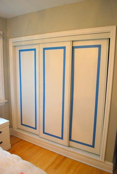 Organizing Kitchen Cabinets Ideas - hometalk how to paint faux trim on closet doors