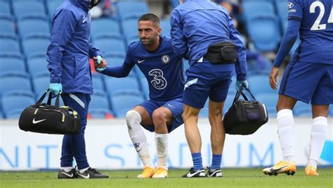 Ziyech out for a couple of weeks, Silva and Chilwell won't ...