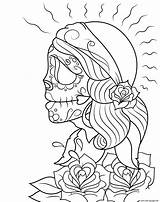 Gypsy Coloring Pages Dead Printable Getcolorings sketch template