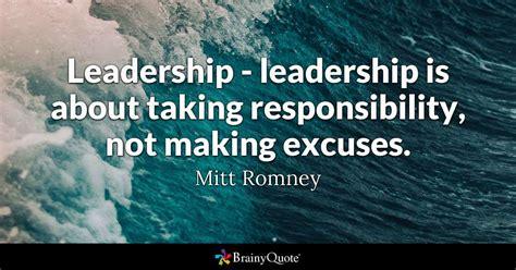 leadership leadership    responsibility