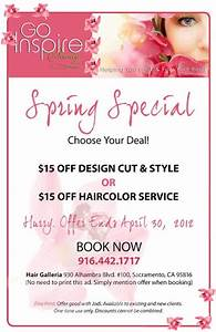 Spring Salon Special   salon advertising   Pinterest ...