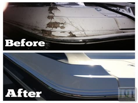 Lowe Boats Touch Up Paint by Fiberglass Gel Coat Boat Repair Marine