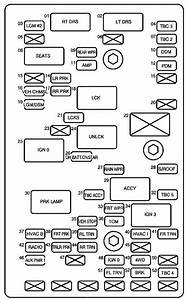 29 2004 Chevy Trailblazer Rear Fuse Box Diagram