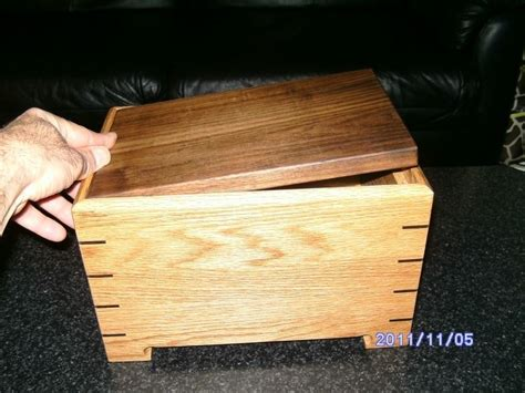 handmade keepsake box  secret compartment  nu