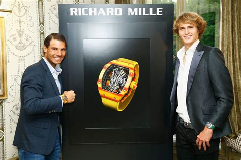 rafael nadal vies  historic  french open win   richard mille rm    wrist